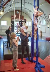 Cirkusmuseet cirkusleg i stof